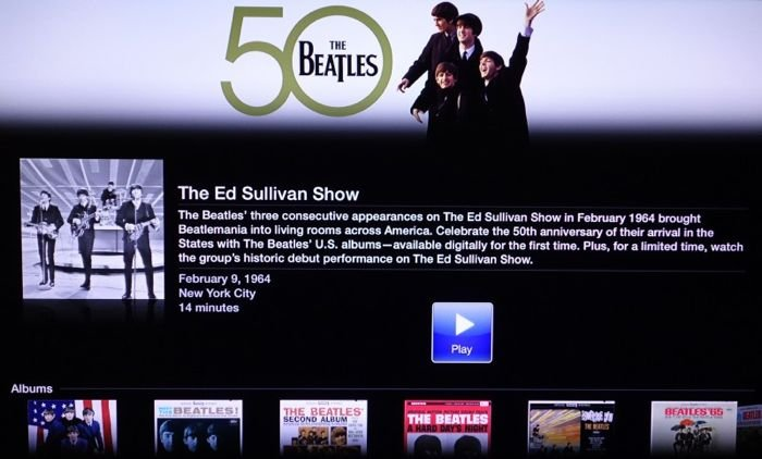 Apple Launches Beatles Channel On Apple TV