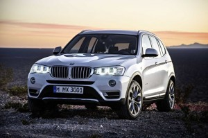 2015 BMW X3 Gets Official