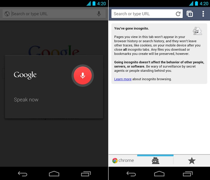 Google Chrome for Android
