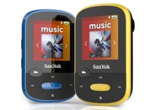 SanDisk Clip Sport MP3 Player Debuts