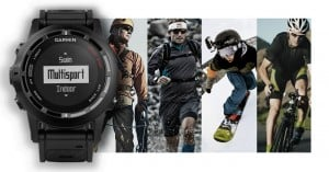 Garmin fenix 2 multisport watch has altimeter and iPhone connectivity