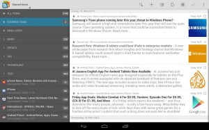 gReader for Android Updated with the Ability to Read Feeds Without A Service and More