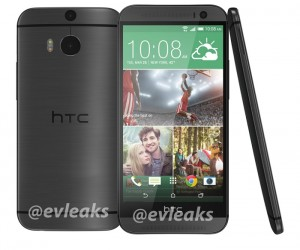 Another HTC M8 Press Render Leaked, This Time In Gray