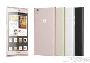 Huawei Ascend P7 Press Image Leaked