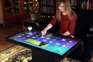 Ideum Platform 46 Android Powered Multi-touch Coffee Table (Video)