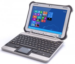 iKey FZ-G1 Jumpseat Puts a Rugged Keyboard on the Panasonic FZ-G1 Tablet
