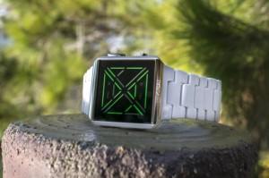 Tokyoflash Kisai X Acetate White LED Watch