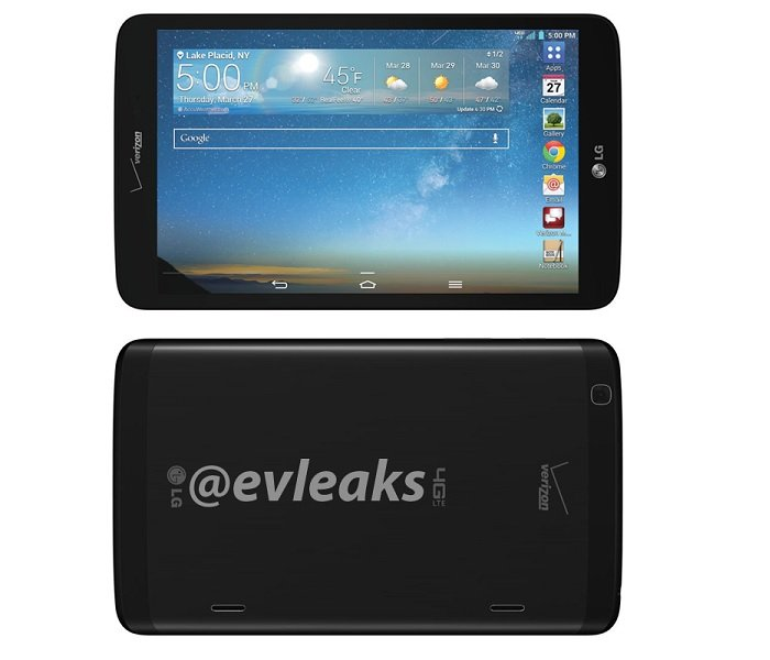 LG G Pad 8.3 Leaked with Verizon Branding