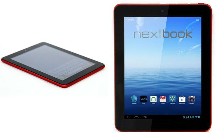 Nextbook Premium 8hd Tablet Lands At Walmart In Red