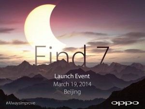 Oppo Find 7 Will be Available With FHD And QHD Displays