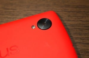 Red Nexus 5 Poses For The Camera