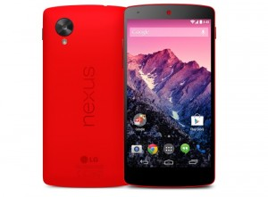 Red Nexus 5 Hits the Google Play Store, Shipping in 1-2 Days