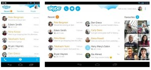 Skype Updated with Improved Chat Experience
