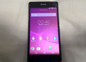Another Video Of The Sony Xperia Z2 (Sirius) In Action