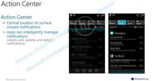 Windows Phone 8.1 Notification Center Leaked