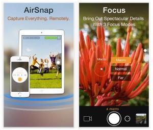 Camera Plus App Update Adds New Remote Control AirSnap Feature
