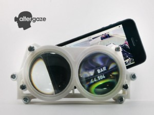 Altergaze Enables Smartphone Virtual Reality From £50 (video)