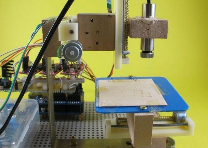 Arduino Mini Lazer Paper-Cutter