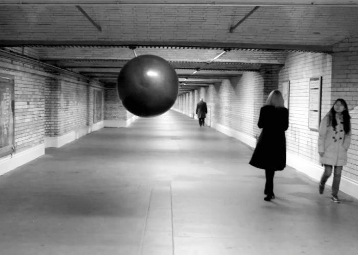 Arduino Floating Black Ball
