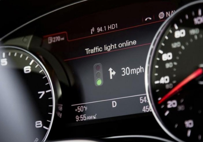 Audi Traffic Light Recognition