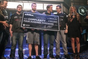 Call of Duty Championship 2014 Winners : CompLexity (video)