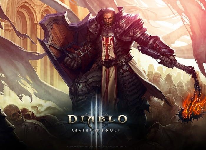 Diablo 3 Reaper of Souls Crusader Class