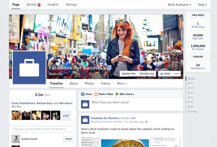 Facebook Pages On Desktop