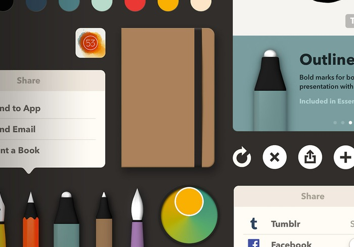 FiftyThree Paper iOS App