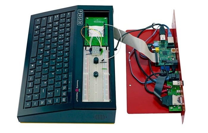 Fuze Raspberry Pi Keyboard Case