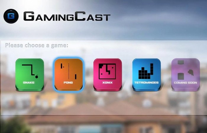 GamingCast For Chromecast