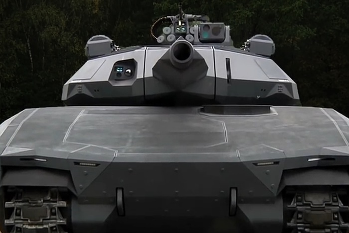 Infrared Invisible Tank