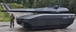 PL-01Tank Concept In Invisible To Infrared Missiles (videos)