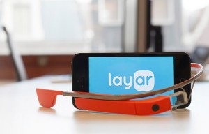Layar Augmented Reality Google Glass App Now Available (video)