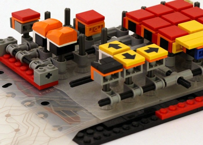 Awesome Fully Working LEGO Keyboard Created By Jason Allemann (video)