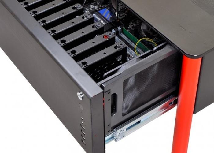 Lian-Li PC Case Desk Concept