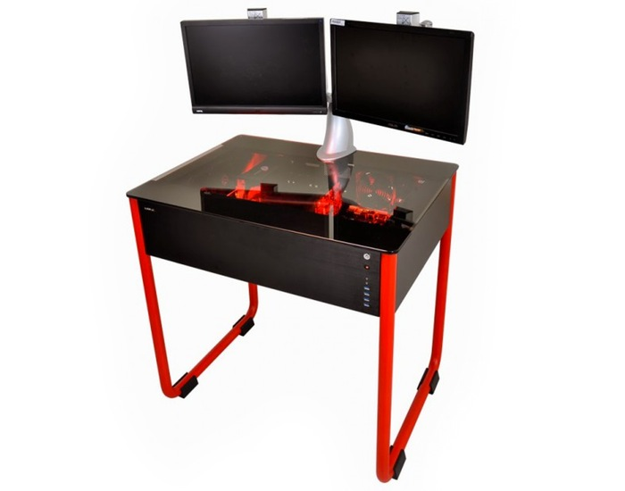 Lian-Li PC Case Desk Concept