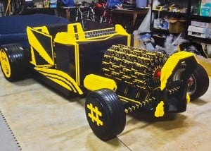 Life-Size LEGO Car That Can Actually Be Driven (video)