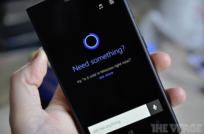 Microsoft Cortana Digital Assistant