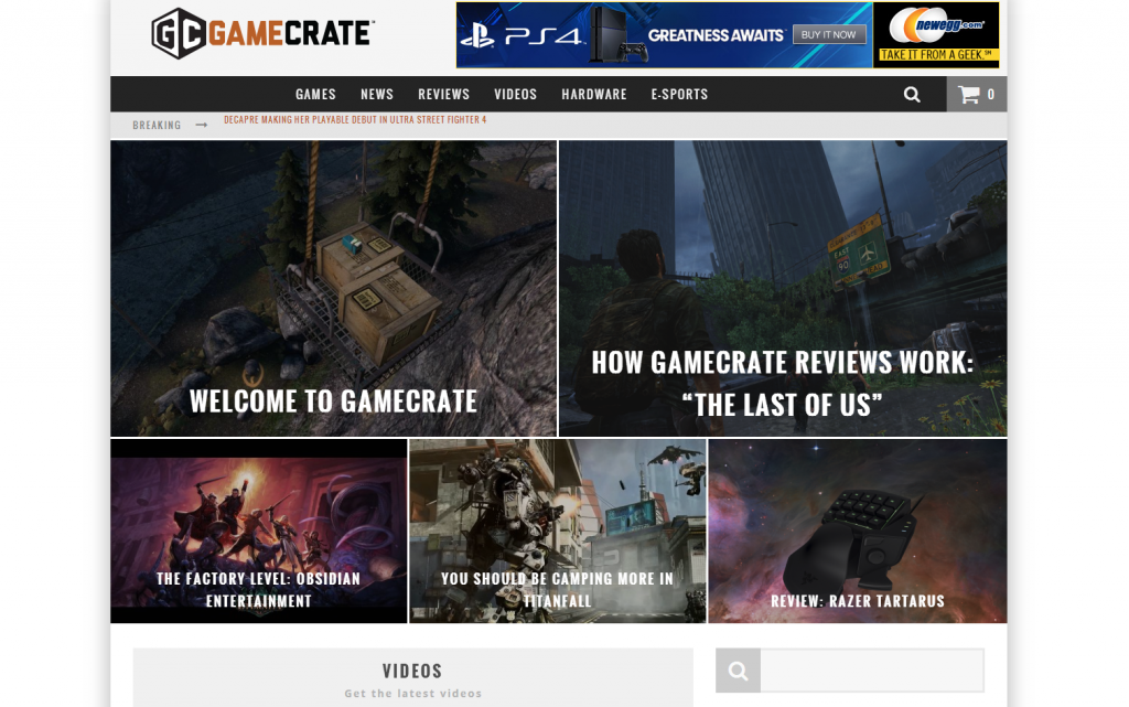 Newegg Gamecrate