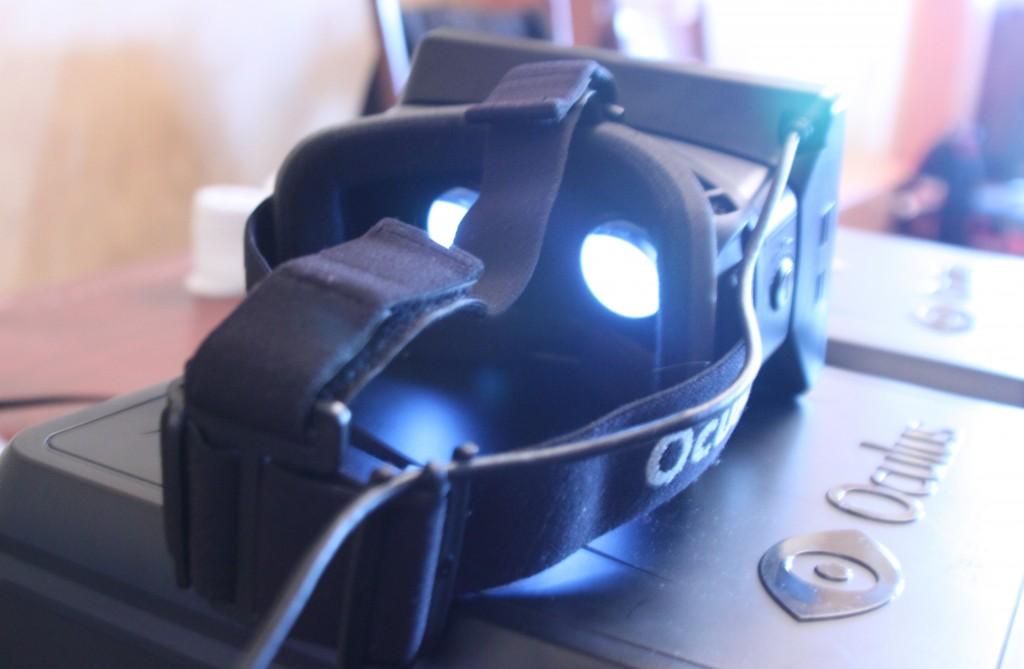 Oculus Rift Glass Brain