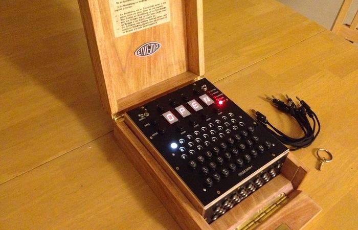 Open Source Enigma Replica