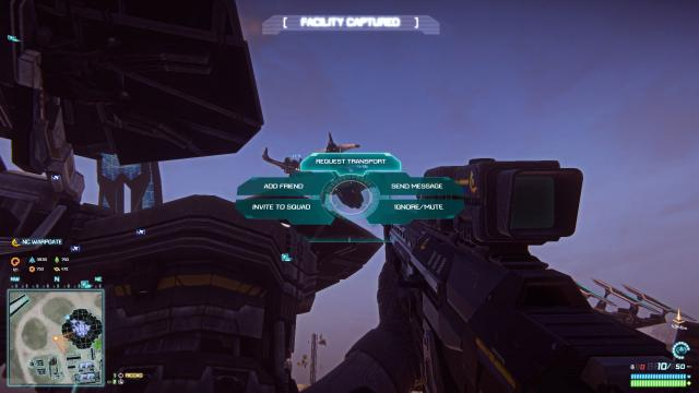 Planetside 2 screen