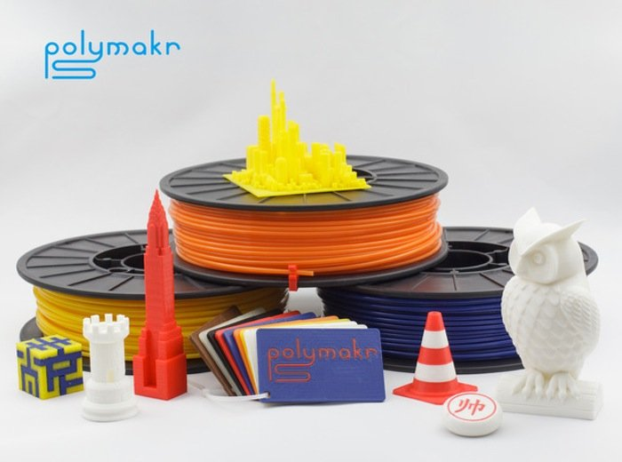 Polymakr Launches New 3D Printing Materials On Kickstarter (video)