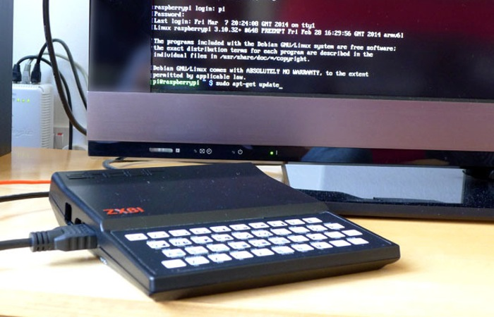 Zx Pi Zx81 Raspberry Pi Retro Computer Case Hack