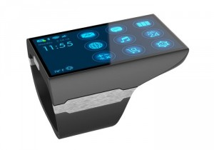 Rufus Cuff Smartwatch Wrist Communicator Unveiled With 3 Inch Screen (video)