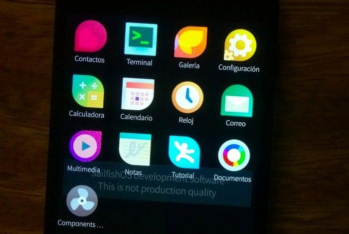 Sailfish OS Nexus 4