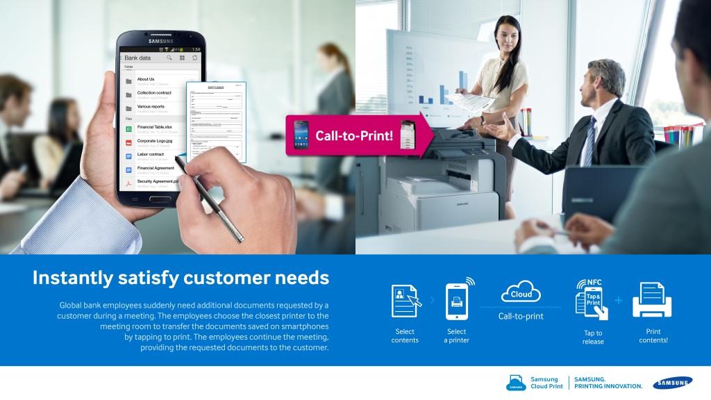 Samsung Cloud Print app