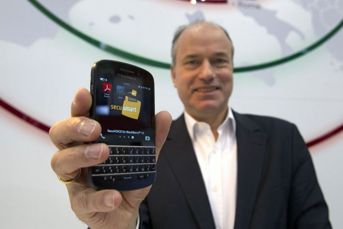 Secusmart Encyrpted BlackBerry