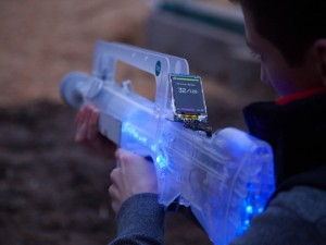 Skirmos Open Source Laser Tag System (video)