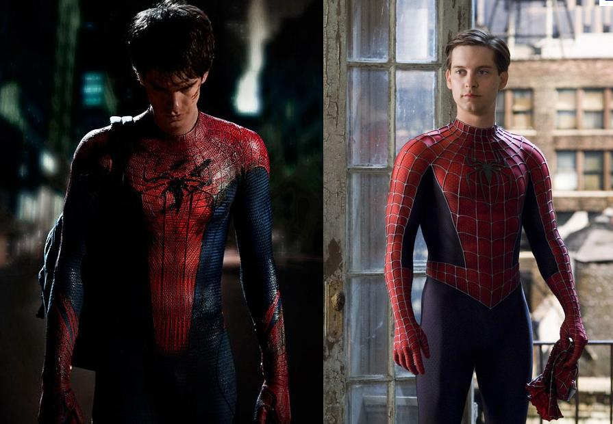 Spider-man reboot comparison